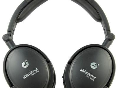 Able Planet NC180B Foldable Headphones