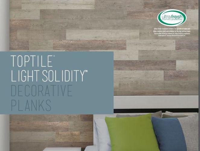 TopTile Light Solidity Deco Planks Cottage Blend for sale in Orem , UT