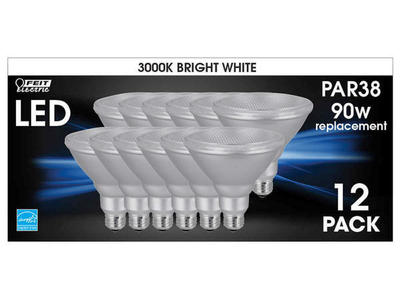 Feit LED PAR38DM/930CA/12 12pk Spot Bright White
