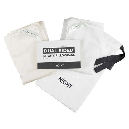 NIGHT Dual Sided Beauty Pillow Case 2-pack King for sale in Orem , UT