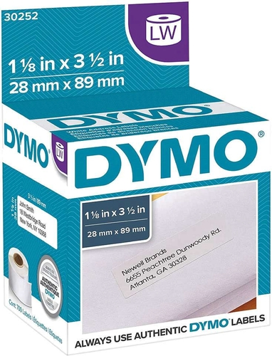 Dymo White 3.5in x 1.125in 700-count Address Labels DYM-30252 115618 for sale in Orem , UT