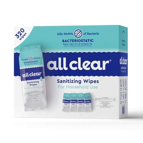 All Clear Sanitizing Wipes 320 cot 2552537 for sale in Orem , UT