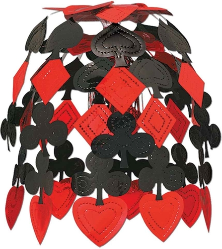 Casino Cascade Party Accessory  Black & Red for sale in Orem , UT