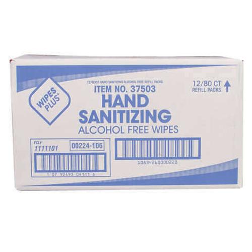 WipesPlus Handsanitizing Wipes, 12/80 count box 1488159 for sale in Orem , UT
