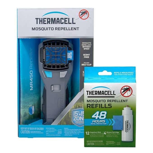 Thermacell MR450 Armored Portable Mosquito Repeller with 60 hours of Refills 1256904 for sale in Orem , UT