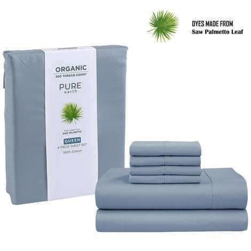 Pure Earth Organic 6-piece Sheet Set, King 80086 for sale in Orem , UT