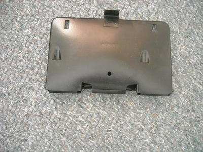 1959 Chevy Impala fold down License plate frame.