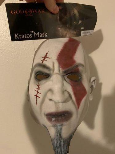 Rare Kratos God Of War Halloween Mask for sale in South Weber , UT