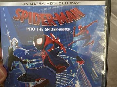 Spider-Man Into The Spiderverse 4K  Code