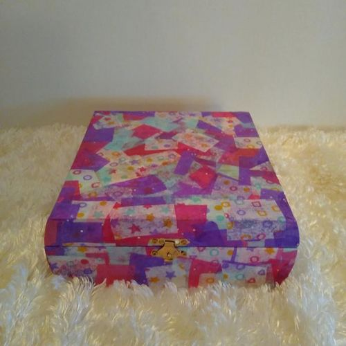 Mod Podge Jewelry Box for sale in South Salt Lake , UT