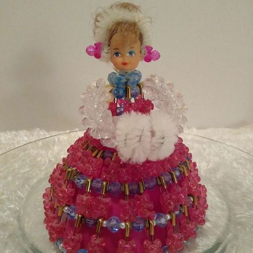 Beaded and Safety Pins Doll for sale in South Salt Lake , UT