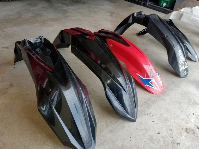 Multiple front MX fenders: Husqvarna, KTM, Yamaha for sale in Orem , UT