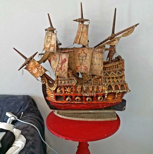 RARE Huge Antique Pirate Ship for sale in American Fork , UT