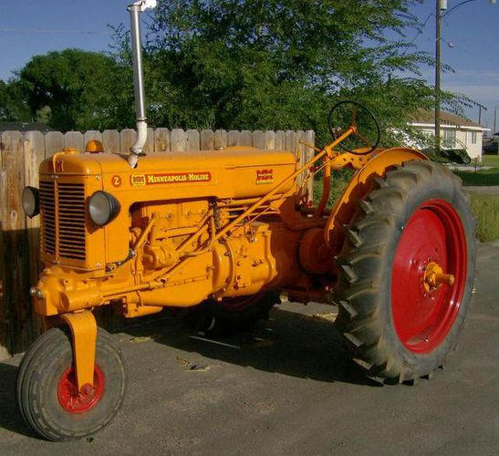 MINNEAPOLIS MOLINE ZAN TRACTOR COMPLETELY RESTORED for sale in Heyburn , ID