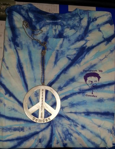 Comdex Computer Show Memorabilia Collectors T-Shirts - Peace Pendant for sale in Heyburn , ID