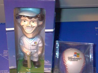 Microsoft(c) Bobblehead And Hard Ball Collectibles