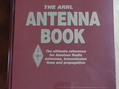 Arrl Antenna Book Leather Hardcover 19th Edition Sealed Never Opened