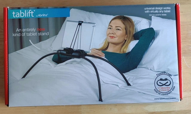 Tablift Tablet Stand for The Bed Sofa or Any Uneven Surface Universal for sale in Heyburn , ID
