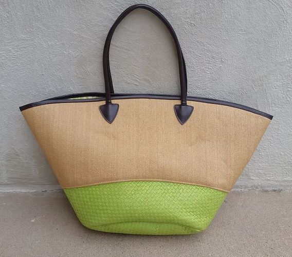 NEW Large Woven Bags - Pink, Blue, Brown, & for sale in Sandy , UT