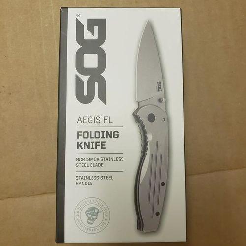 New SOG Aegis Stainless Pocket Knife for sale in Ogden , UT