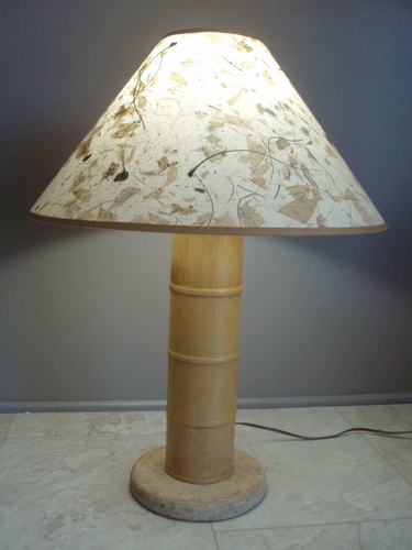 Table Lamp - Contemporary South Pacific or Asian Style for sale in Midvale , UT