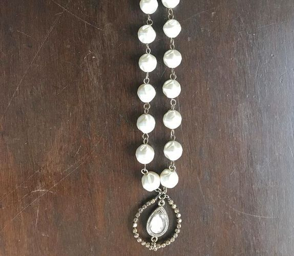 Costume Jewelry Necklace Large Pearls & Stones for sale in Salt Lake City , UT
