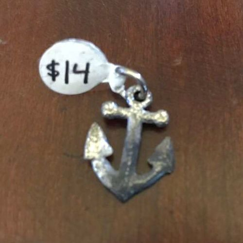 Tarnished Silver Anchor Charm for sale in Salt Lake City , UT