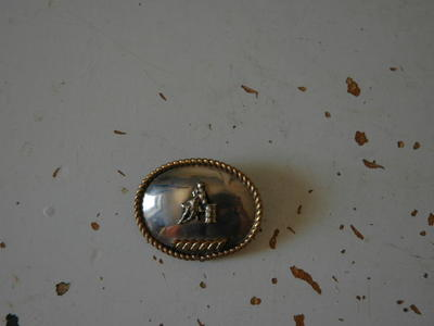 Barrel Racing Lapel/ Hat Pin