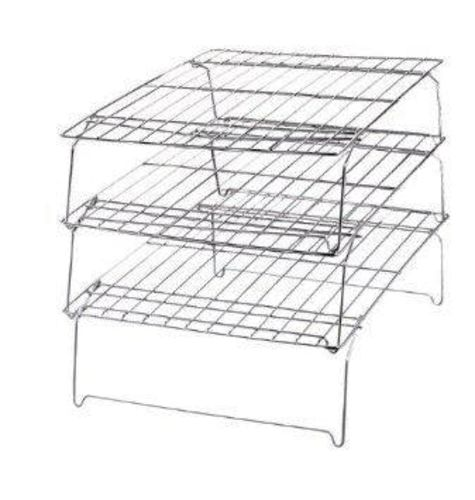 Bakers Cooling Rack Set Stackable 10-Inch by 14-In for sale in Salt Lake City , UT