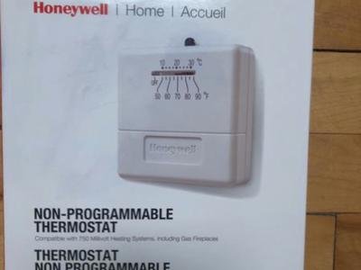 HONEYWELL THERMOSTAT HEAT FIREPLACE