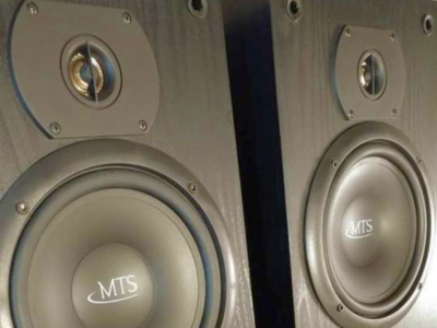 MTS 2208 Studio Monitor Cabinet Speakers U.S-Made