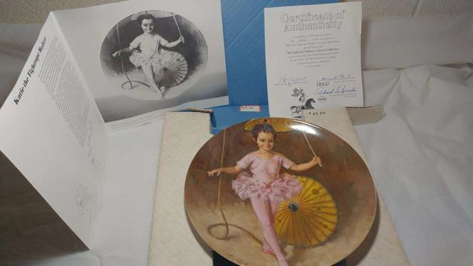 Collectible Plate Katie The Tightrope Walker for sale in Ogden , UT