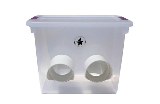 New Waste-proof Rain-proof Mouse-proof Chicken Feeder 6 Gallon 37 lbs for sale in Orem , UT