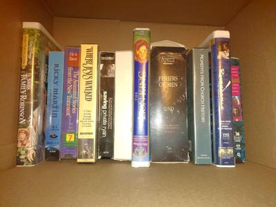 LOT OF 39 VHS TAPES