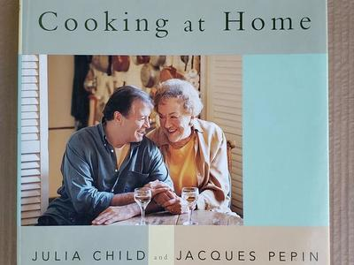 Julia & Jacques Cooking at Home Recipe Cookbook