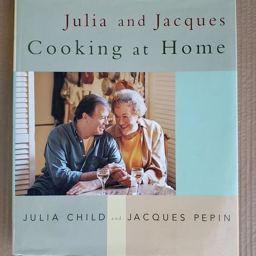 Julia & Jacques Cooking at Home Recipe Cookbook for sale in Elwood , UT