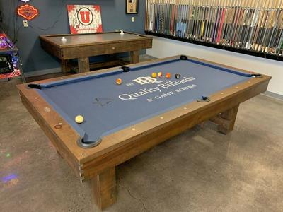 Pool Tables, Shuffleboard Tables, Air Hockey