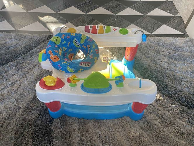 Fisher-Price Little Superstar Step 'N Play Piano exersaucer for sale in Orem , UT