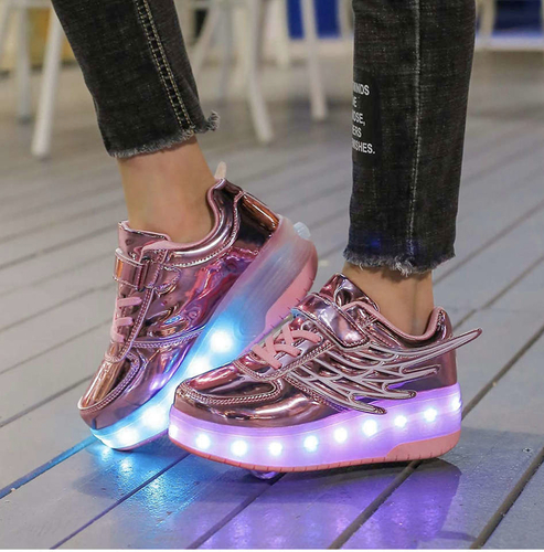 Kids Roller Shoes Sneakers with Wheels Sport Sneaker with Led for sale in Orem , UT