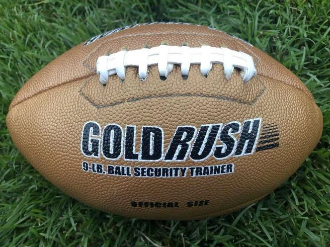 """""""Gold Rush"""" 9 Lb Training Football-Official Size for sale in Sandy , UT"""