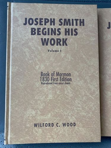 Joseph Smith Begins His Work Vol. 1 or 2 for sale in Bountiful , UT