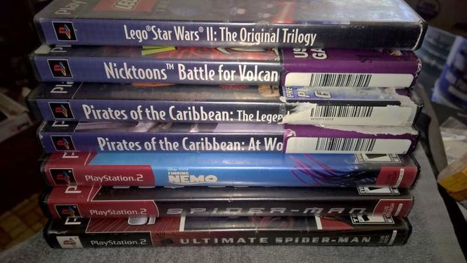 PlayStation 2 Games, $2 Each,  $8 for all 5 Games for sale in Salt Lake City , UT