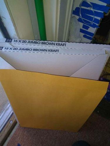Jumbo Brown Envelopes (15