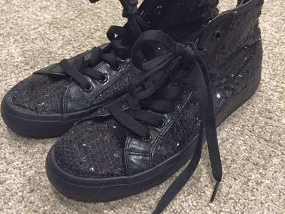 Black High Top Shoes