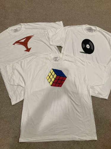 New T Shirts Rubik's Cube, Record & G-Force for sale in Kaysville , UT