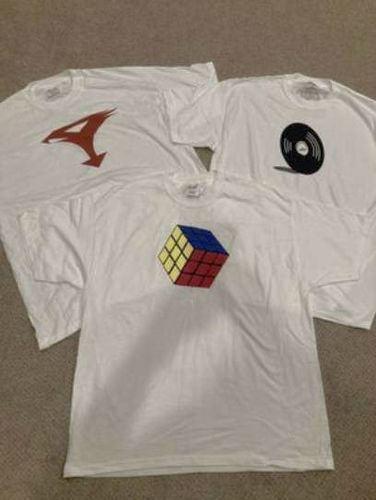 New T Shirt Rubik's Cube, Record & G-force  for sale in Kaysville , UT