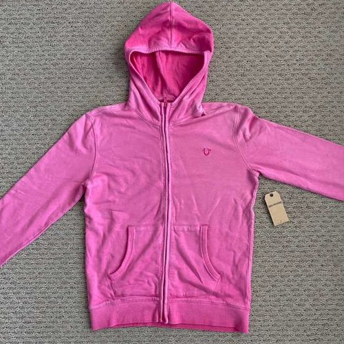 New True Religion Hot Pink Hoodie Girls X Large for sale in North Salt Lake , UT