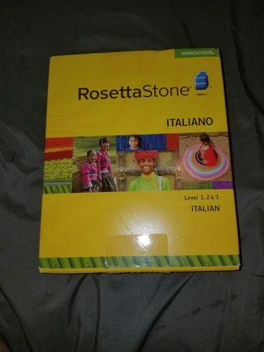 ROSETTA STONE ITALIAN LEVEL 1,2,3 VERSION 3 for sale in Logan , UT