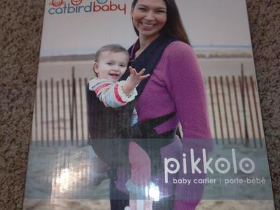 Catbird Baby Pikkolo Baby Carrier. VICTORIA STYLE,