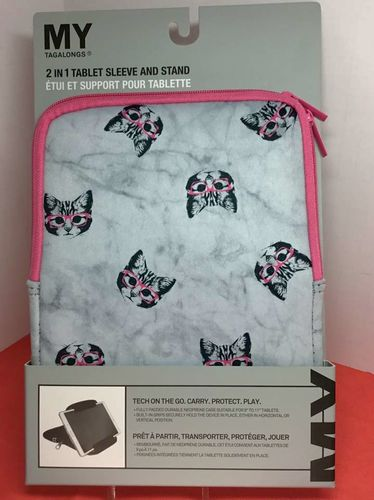 Adorable Glasses Wearing Cat Tablet Sleeve for sale in American Fork , UT